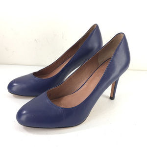 Corso Como Anthropologie 8.5 Blue Heels pumps